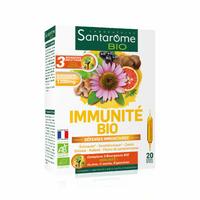 DEFENSES IMMUNITAIRES+ BIO - 20 ampoules 10 ml - Système immunitaire - NOUVEAUTE