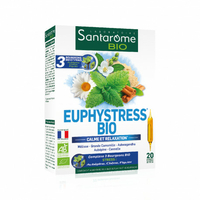 EUPHYSTRESS - 20 ampoules 10 ml - Calme, sommeil & relaxation