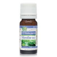 Huiles Essentielles Menthe poivree BIO 10 ml Chémotype de la marque GPH