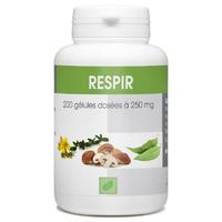 Respir - 200 gélules Eucalyptus globulus, Bouillon blanc, Shiitake, Bioflanoide de citron