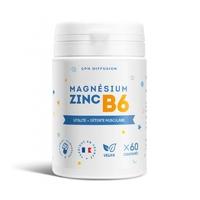 Magnésium + Zinc + B6 - 60 Comprimés (Magnésium Carbonate)