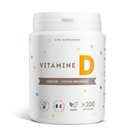 Vitamine D Chlolecalciferol 200 UI 5 µg 200 comprimes