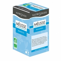 Infusion Mélisse Bio, relaxation - 20 sachets