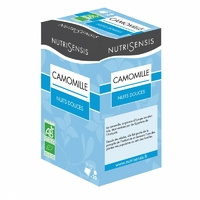 Infusion Camomille Bio, nuits douces - 20 sachets