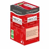 Infusion Fleurs d'Hibiscus Bio, forme & bien-etre - 20 sachets