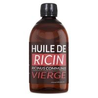 Huile de Ricin 1 litre Vierge 1 ère pression à froid.