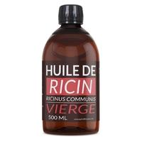 Huile de Ricin 500 ml Vierge 1 ère pression à froid.