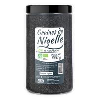 Graines de Nigelle Bio 550 g Nigelle, nielle ou cheveux de Vénus