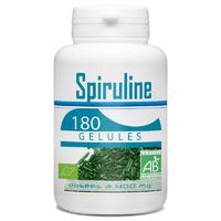 Spiruline biologique 180 gélules végétales HAINAN