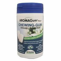 48 Chewing gum VANILLE et MENTHE - Aromagum Relax Huiles essentielles et magnesium