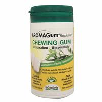 48 Chewing gum EUCALYPTUS et MENTHE - Aromagum RESPIRATION Huiles essentielles EUCALYPTUS ET THYM