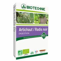 Radis noir et Artichaut Bio - 20 ampoules