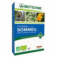 SOMMEIL BIO 20 ampoules PASSIFLORE, VALERIANE, Eschscholtzia, aubepine et lavande Phytarêve Bio