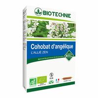 Biotechnie - Cohobat d'Angélique Bio - 20 ampoules - La Cour'Tisane