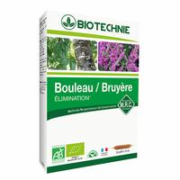 Bouleau et Bruyère Bio 20 ampoules elimination