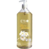 Shampooing ET douche BIO fleurs blanches 1 litre - 1000 ml