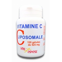 Vitamine C Liposomale 120 gélules à 500mg + Bioflavonoïdes