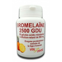 Bromélaïne 2500 GDU 90 gélules 500mg Vitalosmose