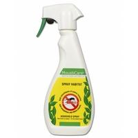 Spray Habitat répulsif et insecticide 400ml 2en1 insectes volants et rampants (moustiques, mouches, guêpes, aoûtats, fourmis, araignées, tiques, cafards…). Efficace contre le moustique Tigre.