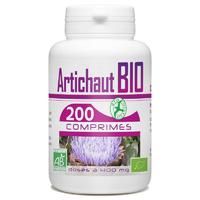 Artichaut Bio - 400 mg - 200 comprimés