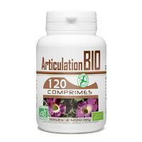 Articulation Bio 400 mg - 120 comprimés harpagophytum, reine des pres, prele