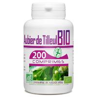 Aubier de Tilleul Bio 400 mg - 200 Comprimés