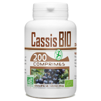 Cassis BIO 400 mg - 200 Comprimés