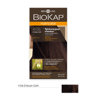Coloration CHATAIN CAFE 4.06 Nutricolor BIOKAP 135 ml