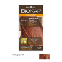 Coloration BLOND CUIVRE 7.4 Nutricolor BIOKAP 135 ml