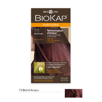 Coloration BLOND ACAJOU 7.5 Nutricolor BIOKAP 135 ml