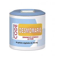 Desmomarie 90 gélules végétales Desmodium Chardon Marie Curcuma Chrysanthellum Americanum Gentiane