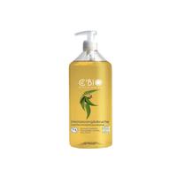 Shampooing et Douche Bio Menthe Verveine Eucalyptus 500 ml tonique 2 en 1