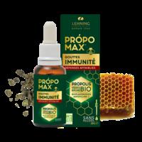 Propolis Verte BIO 30 ml sans alcool PROPOMAX GOUTTES IMMUNITE DEFENSES AFFAIBLIES bioflavonoïdes et de l'artépilline C