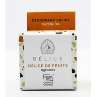 Déodorant solide bio - Délice de fruits (boîte carton) - 38g