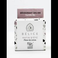 Déodorant solide bio - Matin d'été (boîte carton) - 38g