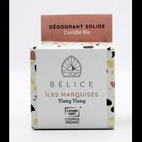 Déodorant solide bio - Îles marquises (boîte carton) - 38g