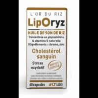 Liporyz, huile de son de riz - 60 capsules