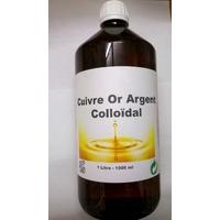 Solution colloïdale Cuivre Or Argent - 1 litre