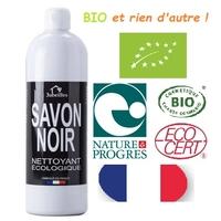 savon noir liquide BIO 1 Litre FRANCAIS et NATURE et PROGRES