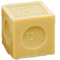 Savon de marseille végétal 72% - cube 300g