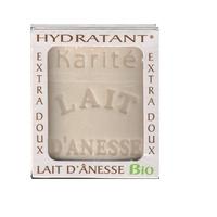 Savon lait anesse BIO (BEURRE KARITE) 100g Fabriqué en FRANCE