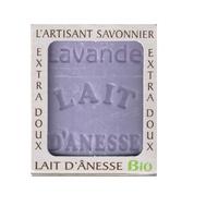 Savon lait anesse BIO (LAVANDE) 100g Fabriqué en FRANCE