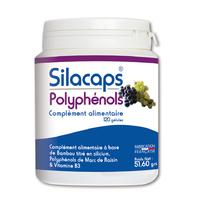 Silacaps Polyphénols 120 gélules Santé Silice