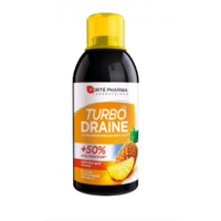 Turbo draine Ananas 500ml draineur et minceur Forte Pharma
