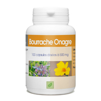 Bourrache Onagre 100 capsules 500 mg Vitamine e