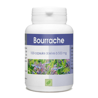 Bourrache 100 capsules Vitamine e 500 mg
