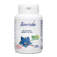Bourrache bio 100 capsules marines