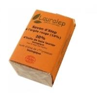 Savon d'Alep à l'argile rouge BIO 150 g - Lauralep