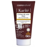 Crème de soin jour Karité Bio nutrition 40ml COSMO NATUREL