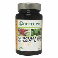 BIOTECHNIE Curcuma et Graviola 60 gelules
